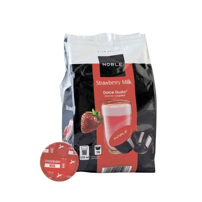 Кофе в капсулах Noble Strawberry Milk для Dolce Gusto (16 шт)