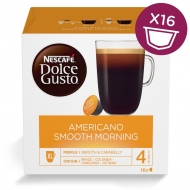 Кофе в капсулах Nescafe Dolce АМЕРИКАНО SMOOTH MORNING, 16 капсул