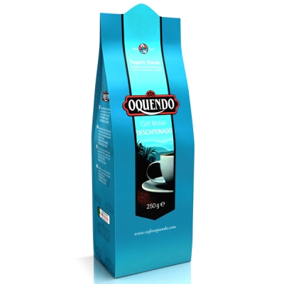 Кофе молотый Oquendo El Cafe Natural Descafeinado (Окендо Эль Кафэ Натураль) 250 г