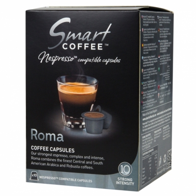 Кофе в капсулах Smart Coffee Club ROMA (10 шт) для кофемашин Nespresso